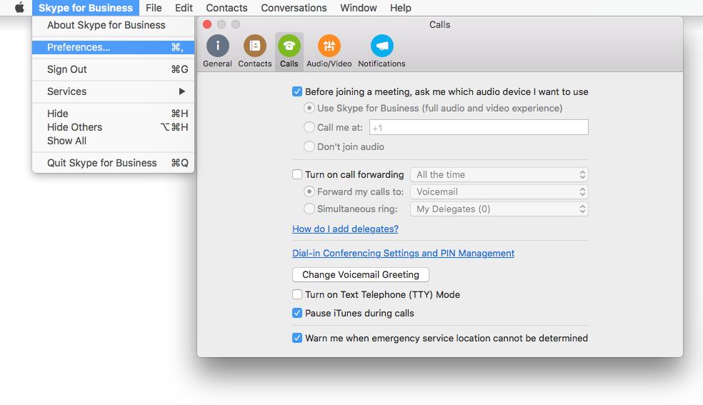 Skype For Business Installer Mac